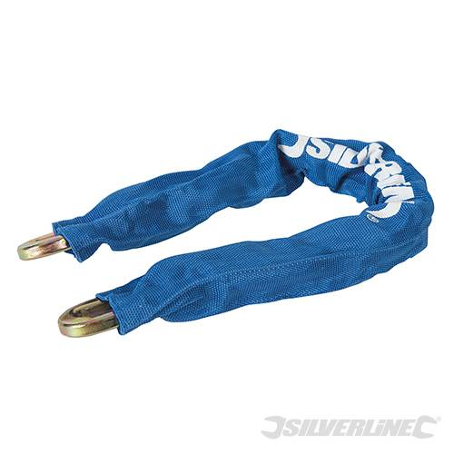 Silverline 2.5 M x 8mm Looped Steel Security Cable 647706 Security Steel