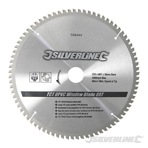 Tct Upvc Window Blade 80t Circular Saw Blades